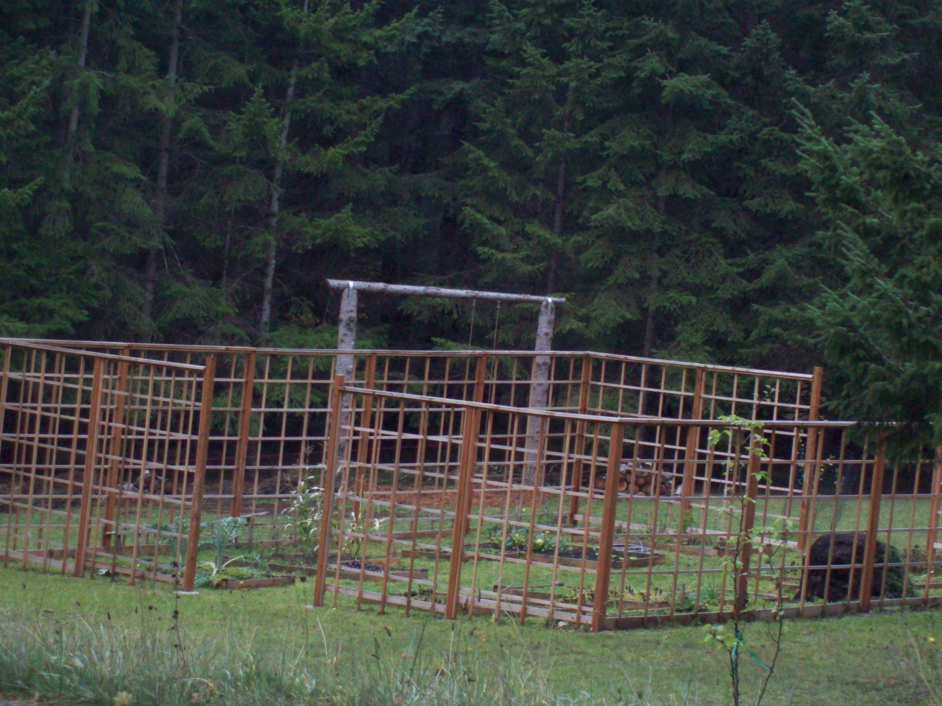 Deer Fence Designs Garden