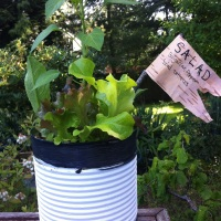 Recycled Kids Garden