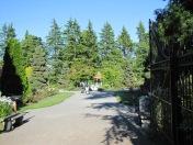 Entryway into the Rose Garden