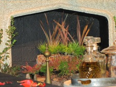 Fireplace Flax