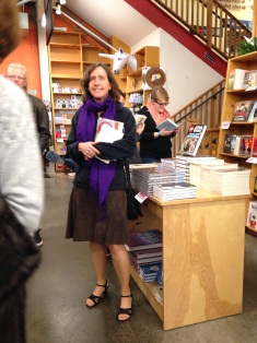 I went to Powell's Books and was so excited to be in this incredible bookstore!