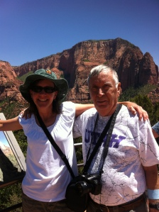 At Kolob Canyon